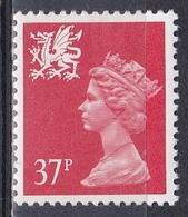 Großbritannien Great Britain Wales 1990 Königshäuser Royals Königin Queen Elisabeth II. Drachen Dragon, Mi. 59 ** - Pays De Galles