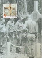 Australia 2016 Vietnam War, Long Tan Cross, Maximum Card - Cartes-Maximum (CM)