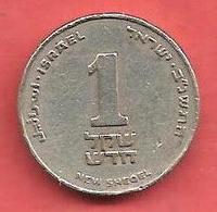 1 New Sheqel , ISRAEL , Cupro-Nickel , 5752 , 1992 , N° KM # 163 - Israel