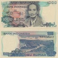 (B0198) INDONESIA, 1980. 1000 Rupiah. P-119. UNC - Indonésie