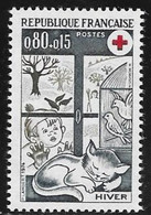 N° 1829     FRANCE  -  NEUF  -  CROIX ROUGE HIVER   1974 - France