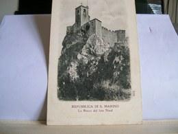 Repubblica Di S. Marino - La Rocca Dal Lato Nord - San Marino