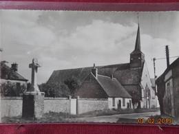 CPSM - Boissy-en-Drouais - L'Eglise Et Le Calvaire - France