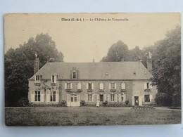 C.P.A. : 28 ILLIERS : Le Château De Tansonville, Animé - Illiers-Combray
