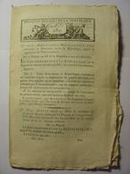 BULLETIN DES LOIS De PRAIRIAL AN XI (1803) - ECOLE MEDECINE TURIN MAYENCE ITALIE ALLEMAGNE SAGE FEMME - PAPIER MONNAIE - Decrees & Laws