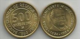 Peru 500 Soles De Oro 1984. High Grade - Pérou