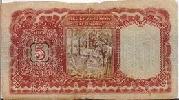 BURMA P.  4 5 R 1938 G - Myanmar