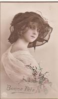 Jolie FILLETTE  Chapeau Grete REINWALD - Portraits
