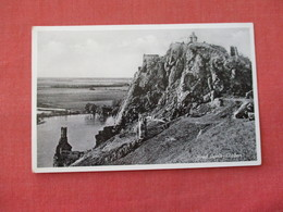 Hrad DevinThebenCzech Stamp & Cancel Ref 3159 - Slowakije
