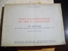 GUIDA ALLA RISOLUZIONE DEI TEMI DI COSTRUZIONE   Geometri - Arts, Architecture