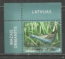 Latvia 2017 Year Mint Stamp  (**)  Birds - Lettland