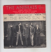 DISQUE VINYL / THE ANIMALS - THE HOUSE OF THE RISING SUN - Rock