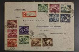Deutsches Reich, MiNr. 831-842, Einschreiben Ab Berlin/Charlottenburg - Allemagne