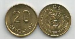 Peru 20 Centavos 1975. High Grade - Perú