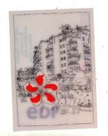 Carte Animéee ( Logo Fleur) Edf - Publicité