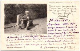 PARDONS BRETONS - Mendiant Sur La Route Du Pardon - Bretagne