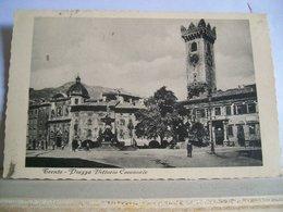 1932 - Trento - Piazza Vittorio Emanuele - Torre - Animata - Trento