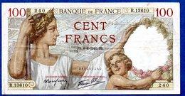 Sully -  100 Francs 8/8/1940 -  état  TB+ - 1871-1952 Anciens Francs Circulés Au XXème