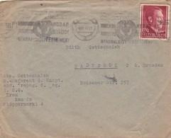 Brief Aus Krakau Nach Radebeul 1942 - Allemagne