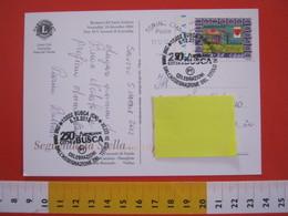 A.07 ITALIA ANNULLO - 2012 BUSCA CUNEO 250 ANNI ASSEGNAZIONE TITOLO DI CITTA'  CARD LIONS CLUB SCARNAFIGI - Storia