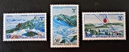 JEUX OLYMPIQUES DE GRENOBLE 1967 - NEUFS ** - YT 184/86 - MI 230/32 - Upper Volta (1958-1984)