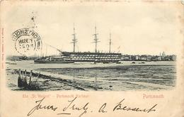 PORTSMOUTH - The St Vincent; Portsmouth Harbour. - Segelboote