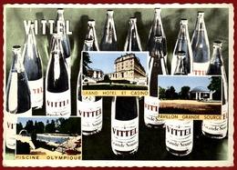 ** BOUTEILLES  VITTEL  -  SOURCES  De  SANTE  1965 ** - Vittel Contrexeville