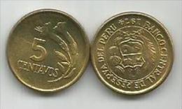 Peru 5 Centavos  1974. High Grade - Peru
