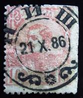 1880 . Serbie Yt 28 .  King Milan IV . Belle Oblitération 1886 Used - Serbie
