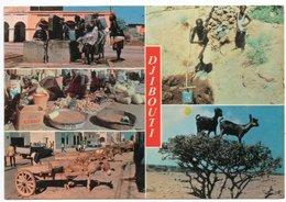 DJIBOUTI - TYPIQUE DE DJIBOUTI / PASTA CIRIO VERA NAPOLI / THEMATIC STAMP-AIRPLANE - Gibuti