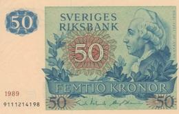 (B0273) SWEDEN, 1989. 50 Kronor. P-53d. UNC - Suède