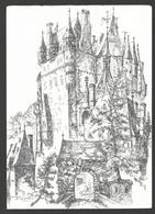 Burg Eltz - Tuschezeichnung Von Walter Ritzenhofen - Germania