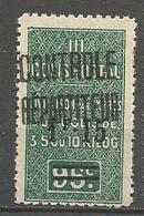 ALGERIE COLIS POSTAUX N° 28a Type II NEUF** SANS CHARNIERE  / MNH - Algérie (1924-1962)