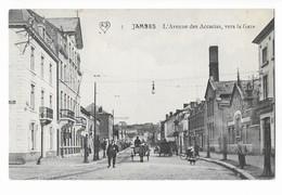 Jambes  ( M 4902 )  Calèche ,  Vélo Et Animation Dans L'avenue Des Accacias - Namur
