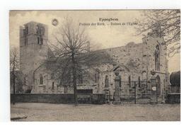 Eppegem  Eppeghem Puinen Der Kerk - Ruines De L'Eglise 1920 - Zemst
