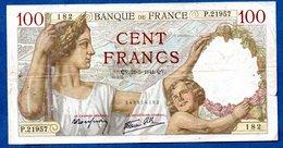 Sully -  100 Francs      21/5/1941 -    état  TB+ - 1871-1952 Circulated During XXth