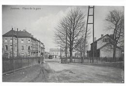 Jambes  ( M 4903 )  Gare Et Tram Place De La Gare - Namur