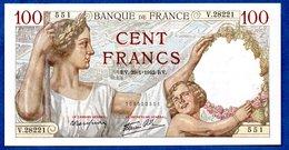 Sully -  100 Francs      29/1/1942 -    état SUP + - 1871-1952 Anciens Francs Circulés Au XXème