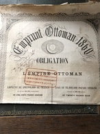 Emprunt Ottoman 1860 - Actions & Titres