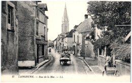 14 LANGRUNE - Rue De La Mer - Autres Communes