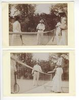 2 PHOTOS TENNIS SPORT  /FREE SHIPPING REGISTERED - Sports