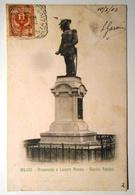LOMBARDIA - MILANO - MONUMENTO A LUCIANO MANARA GIARDINI PUBBLICI Formato Piccolo Viaggiata Nel 1902 - Condizioni Buone - Milano