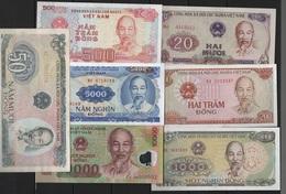 B 138 - VIETNAM Lot De 7 Billets  état Neuf 1er Choix - Vietnam