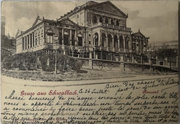 Schwalbach // Gruss Aus - Kursaal 1900 - Germany