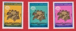 IRAQ  1974 Centenaire De. U P U  N°721 à 723 - Iraq