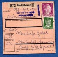 Colis Postal  -  Départ Diedenhofen 1  - 04/6/1943 - Allemagne