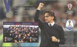 HR 2018-1333-4 II Nd ON FIFA CUP, S/S, MNH - Kroatien