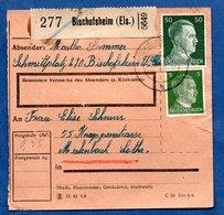 Colis Postal  -  Départ Bischofsheim  -  31/05/1943 - Allemagne