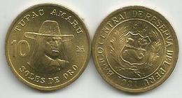 Peru 10 Soles De Oro 1981. High Grade - Pérou