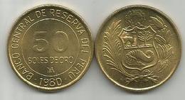 Peru 50 Soles De Oro 1980. High Grade - Pérou